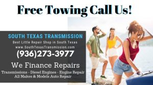 Free Towing South Texas Transmission in Spring TX